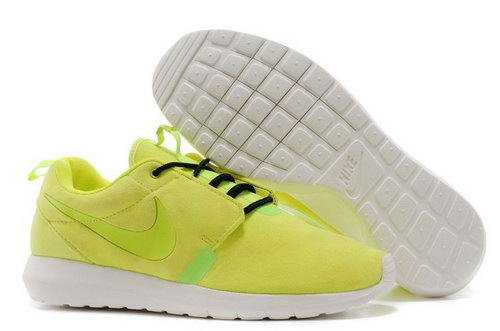 Nike Roshe Run Nm Br Mens Shoes Yellow All Hot Norway